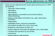 Aplicaciones ISDN (9)